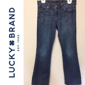 Lucky Brand the short inseam Jean